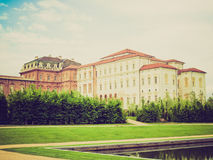Retro look Venaria Reale Royalty Free Stock Images