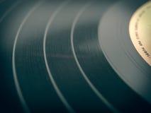 Retro look Vinyl record Stock Image