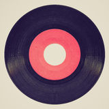 Retro look Vinyl record Stock Photography