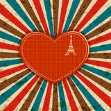 Retro Love Background Royalty Free Stock Photography