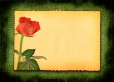 Retro love card Royalty Free Stock Images