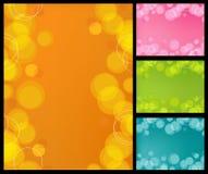 Retro- Luftblasen-Hintergrund Stockbilder
