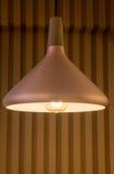 Retro lyxig ljus lampa för metall Arkivfoton