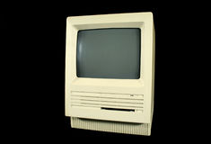 retro mac Royaltyfria Bilder