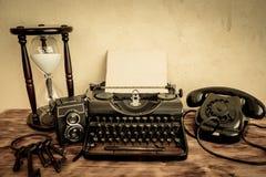 Retro macchina da scrivere fotografie stock libere da diritti