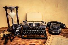 Retro macchina da scrivere fotografia stock libera da diritti