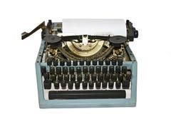 Retro macchina di scrittura Immagini Stock