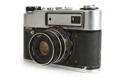 Retro macchina fotografica Fotografie Stock Libere da Diritti