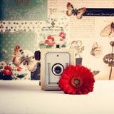 Retro macchina fotografica Immagine Stock