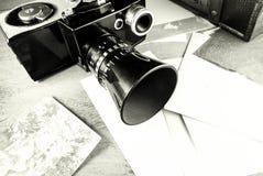 Retro macchina fotografica. Immagine Stock