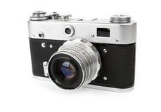 Retro macchina fotografica Fotografie Stock