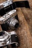 Retro macchina fotografica Fotografia Stock Libera da Diritti