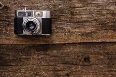 Retro macchina fotografica Immagine Stock Libera da Diritti