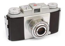 Retro macchina fotografica del viewfinder Fotografia Stock Libera da Diritti