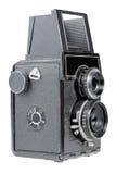 Retro macchina fotografica della foto Immagini Stock