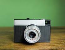 Retro macchina fotografica della foto Fotografia Stock