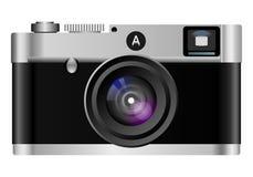 Retro macchina fotografica della foto Fotografie Stock Libere da Diritti