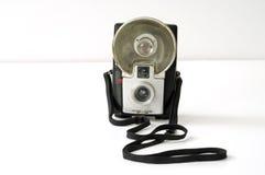 Retro macchina fotografica della Kodak dello starflash Immagine Stock