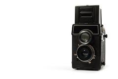 Retro macchina fotografica della pellicola Fotografia Stock Libera da Diritti