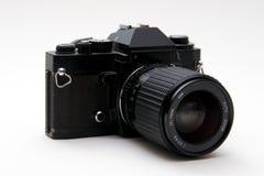 Retro macchina fotografica della pellicola di 35mm Immagine Stock Libera da Diritti