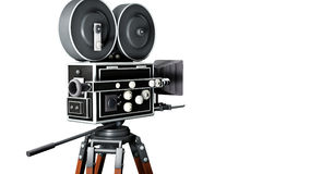 Retro macchina fotografica di film Immagine Stock