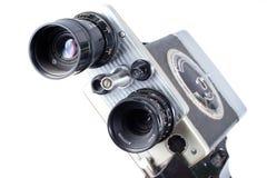 Retro macchina fotografica di film dell'annata Immagini Stock