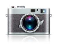 Retro macchina fotografica di stile Immagine Stock