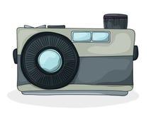 Retro macchina fotografica di stile Immagini Stock Libere da Diritti
