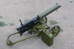 Retro machine gun Royalty Free Stock Photography