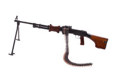 Retro machine gun Royalty Free Stock Images