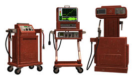 Retro machines Stock Photo