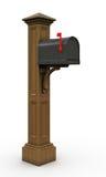 Retro  mailbox Royalty Free Stock Photos