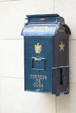 Retro Mailbox on Streets of Havana Royalty Free Stock Photos