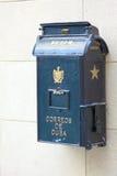 Retro Mailbox on Streets of Havana Royalty Free Stock Photos