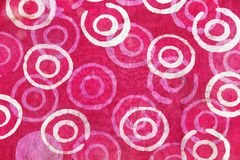 Retro makaty tkaniny wzoru tło Fotografia Stock