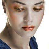 retro makeup Arkivbild