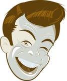 Retro man character Royalty Free Stock Image