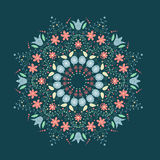 Retro mandala Royalty Free Stock Photo