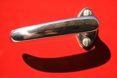 Retro maniglia di portello Fotografia Stock Libera da Diritti