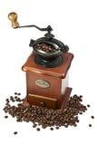 Retro manual coffee mill Stock Photo