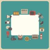 Retro mass communication gadget Stock Image
