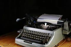 Retro maszyna do pisania list Fotografia Stock