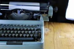 Retro maszyna do pisania list Fotografia Royalty Free