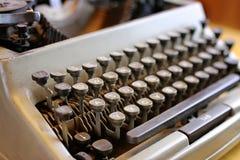 Retro maszyna do pisania list Zdjęcie Royalty Free