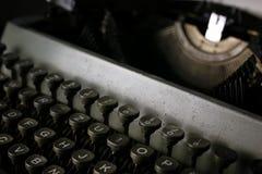 Retro maszyna do pisania list Obrazy Stock