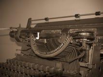 Retro maszyna do pisania Maszynowy Stary styl Zdjęcia Stock