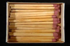 Retro matches Royalty Free Stock Images