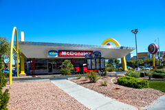Retro McDonald's Restaurant, Las Vegas, NV. Royalty Free Stock Photos