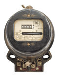 Retro measuring instrument of electric energy Royalty Free Stock Photography