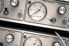 Retro measuring instruments Royalty Free Stock Images